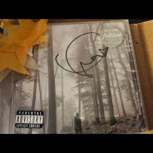 Taylor Swift Signed Folklore